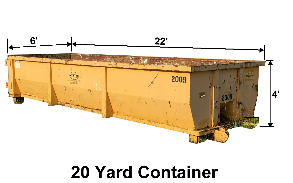 20 Yard Container